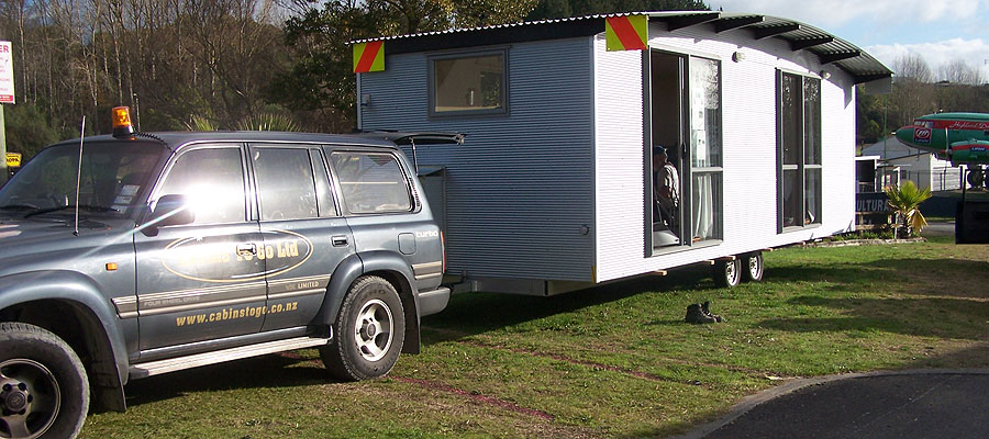 Portable rental cabin